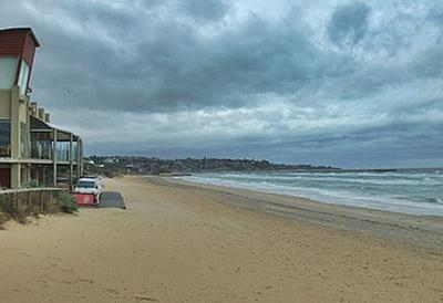 Stormy Day at Frankston, Mornington Peninsula, Victoria Australia