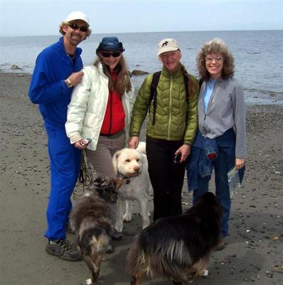 Dennis, Leah, Leslie, and Lin plus