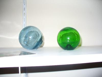 Two Nice Glass Fishing Floats