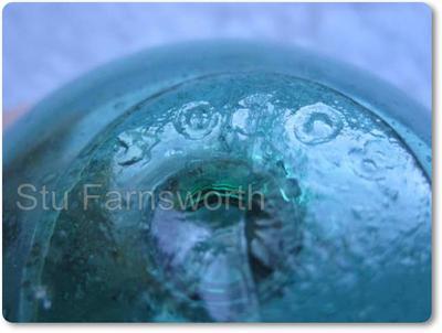 Blue float