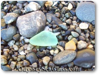 Good beaches for sea glass on Washington State inland waterways?