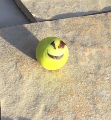 Happy Face Marble