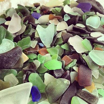 I heart sea glass