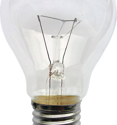 incandescent light bulb glass id