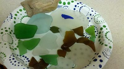 New Jersey sea glass Catch of the Day