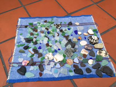 Sea Glass from Olas Altas Beach in Mexico