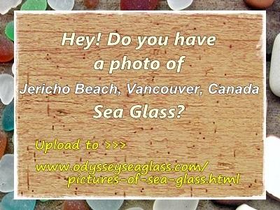 Jericho Beach Sea Glass Report