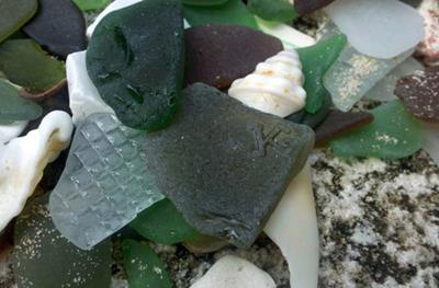 K is for Kristin! - December 2011 Sea Glass Photo Contest