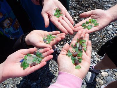 Kids Quest 2015 - July 2015 Sea Glass Photo Contest
