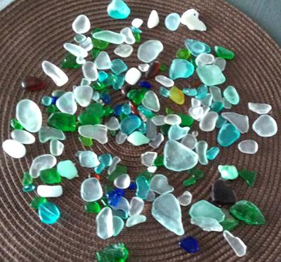 Wisconsin Beach Glass - Great Lakes