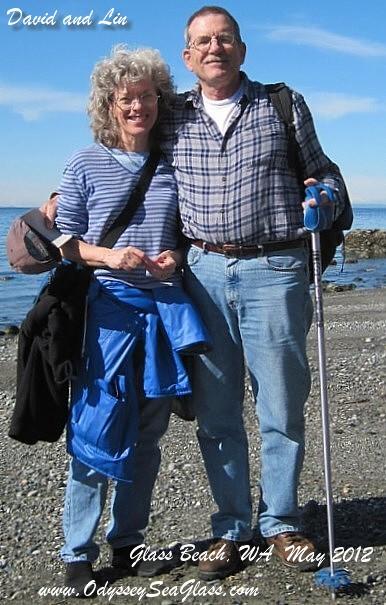 David and Lin on beach in Washington News