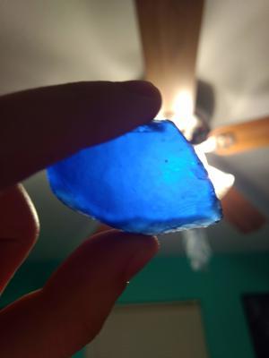 My chunky blue