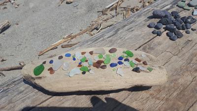 Sea Glass Bead - Sea Glass Photo Contest