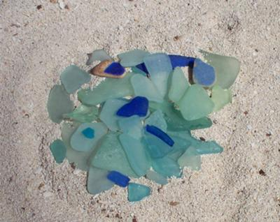 Sea Glass Michigan Beach