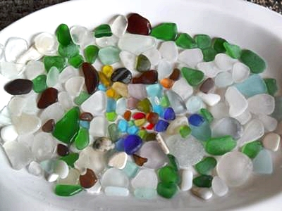 Lovin' D' Beach Glass