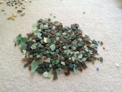 Several hundred pieces found in 3 days' time