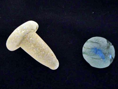 Manly Beach Australia Sea Glass Bottle Stopper