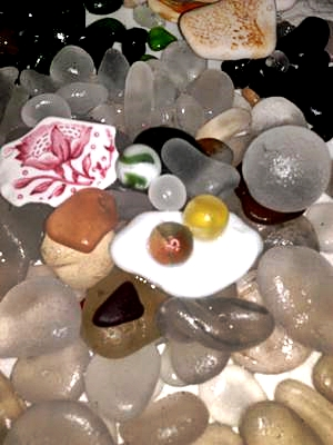 Marble Mania Sea Glass in February