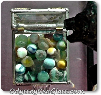 michaels marbles sea glass