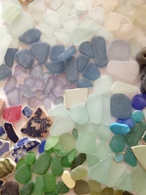 Sea Glass Photos - Isle of Sheppey, England