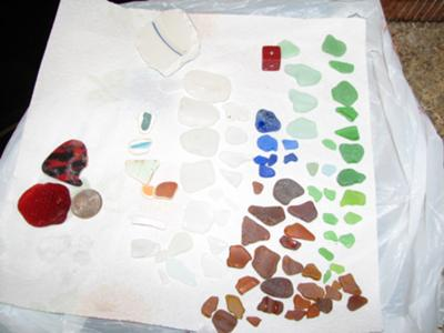 Whidbey Island Beach Glass Reports