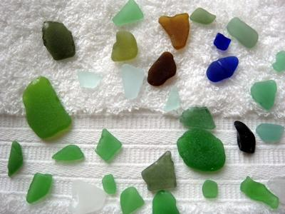 Turks and Caicos sea glass 2