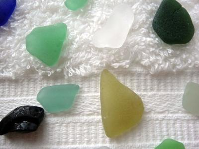 Turks and Caicos sea glass 3