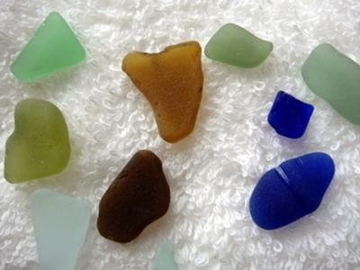 Turks and Caicos sea glass 4