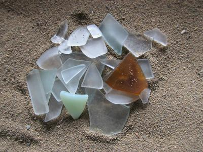 My First Sea Glass - January 2013 Sea Glass Photo Contest