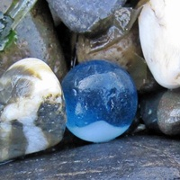 sea glass marble