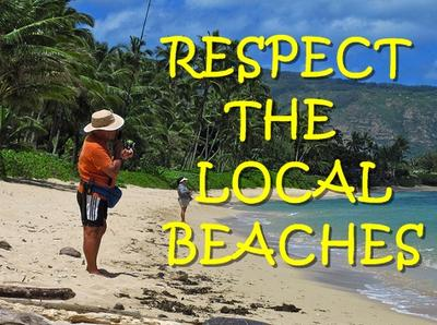 No Telling! Respect the Local Spots