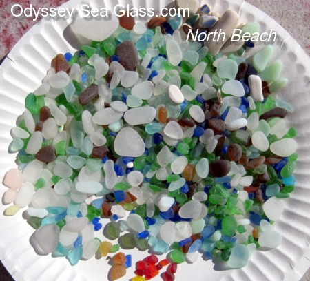 North Beach Washington Sea Glass