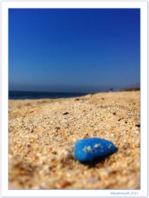 Barcelona Spain Beach and Sea Glass