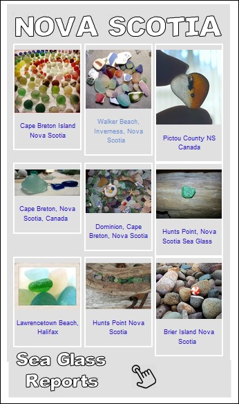 nova scotia sea glass reports