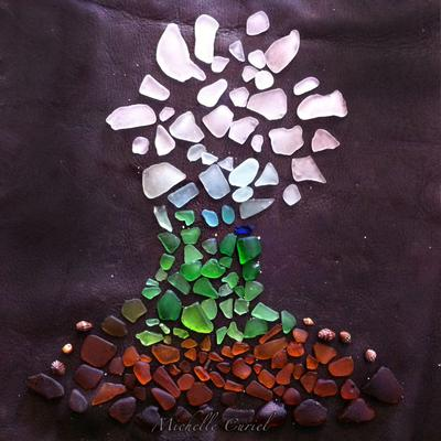 Oahu Sea Glass Tree