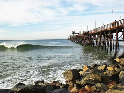 Oceanside Pier, California, USA