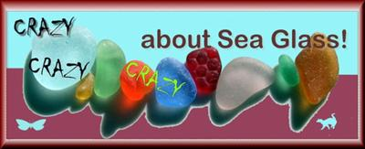 Crazy About Sea Glass - Available on Zazzle