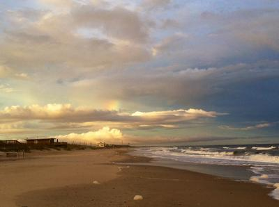 Onslow Beach after a storm
