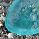 blue sea glass color