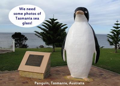 Sea Glass in Penguin, Tasmania