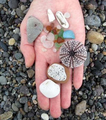 Peru Beach Glass Barrancas