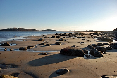 Massachusetts Sea Glass Beach