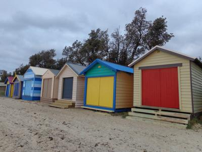 Mornington Beach Foreshore Beach Huts