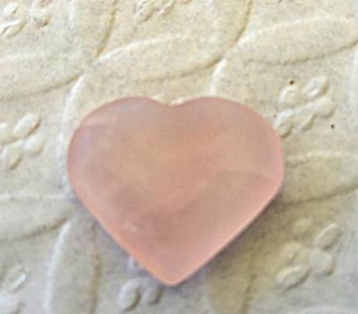 Pretty Pink Heart - Sea Glass Photo Contest