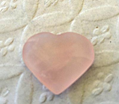 Pretty Pink Heart - Sea Glass Photo Contest