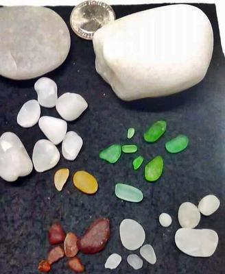 San Clemente California Sea Glass