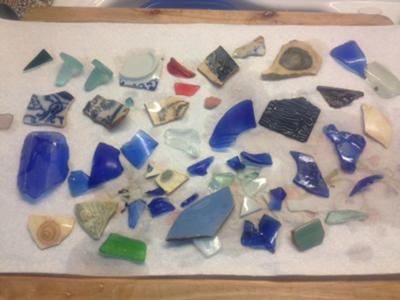 sea glass catch Virginia East Shore