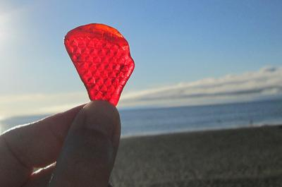 Red Sea Glass #1