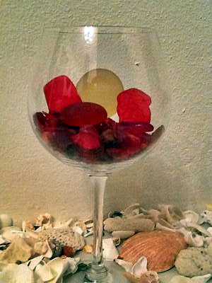 Red Bermuda Sea Glass