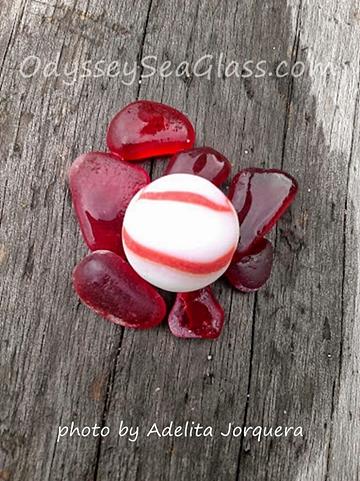red sea glass white marble adelita
